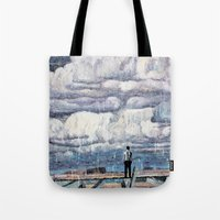 depression Tote Bags featuring Depression by Rothko