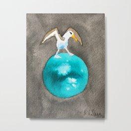 Albatross and Titan Metal Print