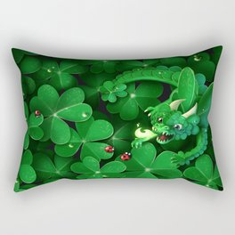 Cloverdragon Rectangular Pillow
