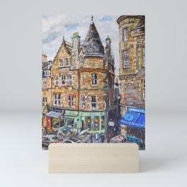 Cockburn Street, Edinburgh Mini Art Print