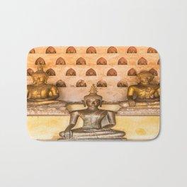 Wat Si Saket Buddhas II, Vientiane, Laos Bath Mat