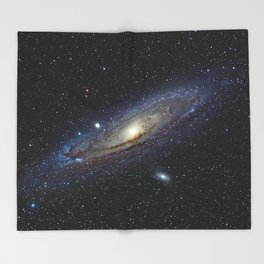 The Andromeda Galaxy Throw Blanket
