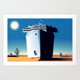 Desert Cruise Art Print