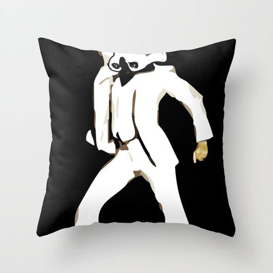 saturday night trooper _ star wars Throw Pillow