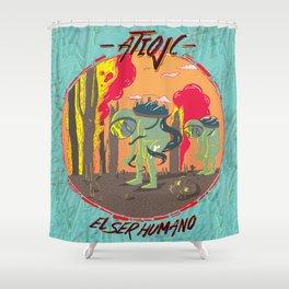El Ser Humano Shower Curtain