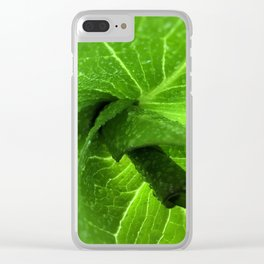 Spring Green - Skunk Cabbage Clear iPhone Case