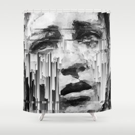 Falling Down by IRRELEVANT VISION™ Shower Curtain
