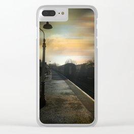 Bitton Railway Platform Clear iPhone Case