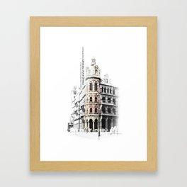 ...memory of Hongkong - General Post Office Framed Art Print