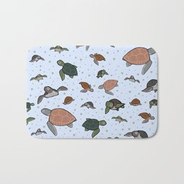 Sea Turtles Bath Mat