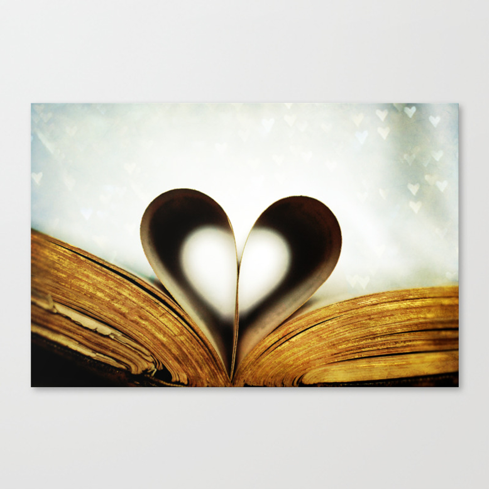 An Affair Of The Heart Canvas Print by Lawsonimages CNV947718