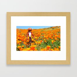 Jack Pumpkinhead Framed Art Print