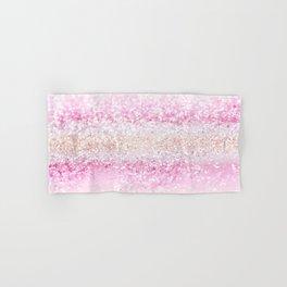 Unicorn Girls Glitter #2 #shiny #pastel #decor #art #society6 Hand & Bath Towel