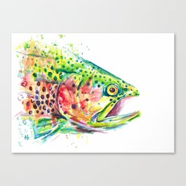 Skittles the Trout Canvas Print