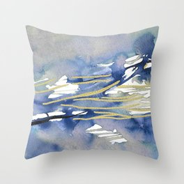 behind every single calculated steps Throw Pillow