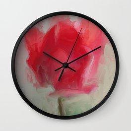 Lipsick Tulip Wall Clock