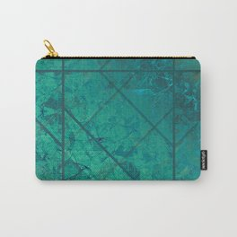 Green Marble Texture G294 Carry-All Pouch