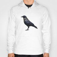 band Hoodies featuring Raven Band by Vin Zzep