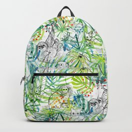 Endangered in the Rainforest Backpack