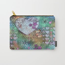Cherish the Hearts Doodle Carry-All Pouch