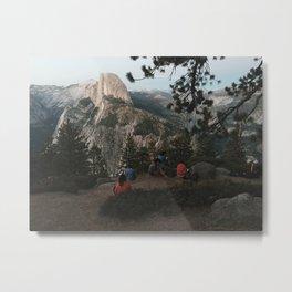 Making Art at Glacier Point, Yosemite National Park, California Metal Print