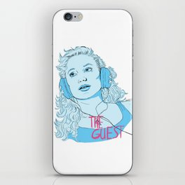 The Guest - Haunted When The Minutes Drag iPhone Skin
