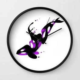 Fantasy Killer Whale Wall Clock