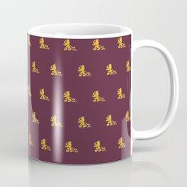 Royal Gryphons in Purple Coffee Mug