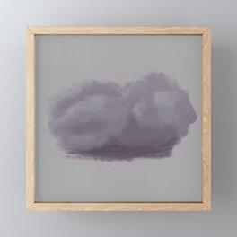 Dare to Dream - Cloud 47 of 100 Framed Mini Art Print