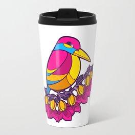 Pride Birds - Pansexual Travel Mug