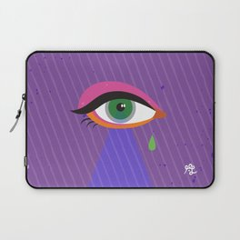 Triangle Allseeing Eye Laptop Sleeve