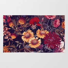 Midnight Garden IV Rug