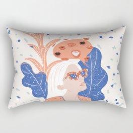 Thinkin About Kissin You Rectangular Pillow