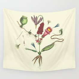 Flaw Flower Wall Tapestry