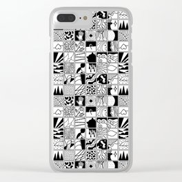 extraordinary spaces - pattern Clear iPhone Case