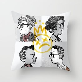 Young Bloods Throw Pillow