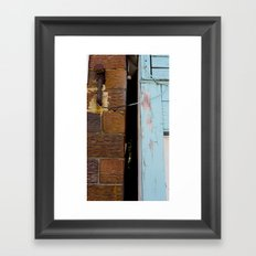 Between The Lines Framed Art Print