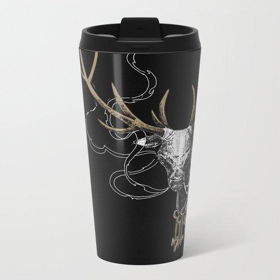 Oh Deer! Light version Metal Travel Mug