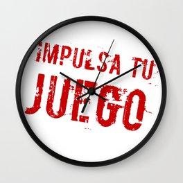 Impulsa tu juego Wall Clock