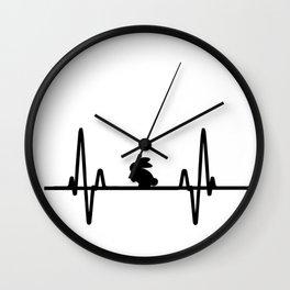 Bunny life Wall Clock