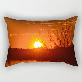 Sky aglow Rectangular Pillow