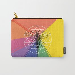 Sacred Bee Carry-All Pouch