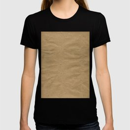 Brown Wrapping Paper Background T-shirt