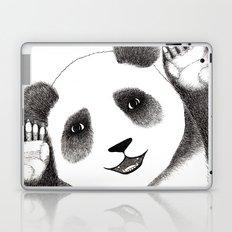 Panda Close Up Laptop & iPad Skin