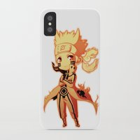 naruto iPhone & iPod Cases featuring Naruto  by WTFmoments