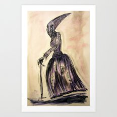 The Hag Art Print