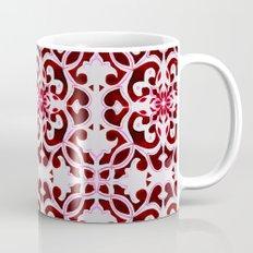 Lotus Floral Tile Pattern Mug