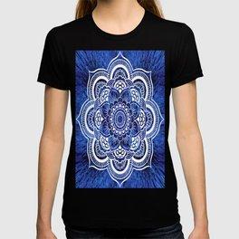 Mandala Blue Colorburst T-shirt