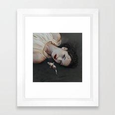 Girlfish Framed Art Print
