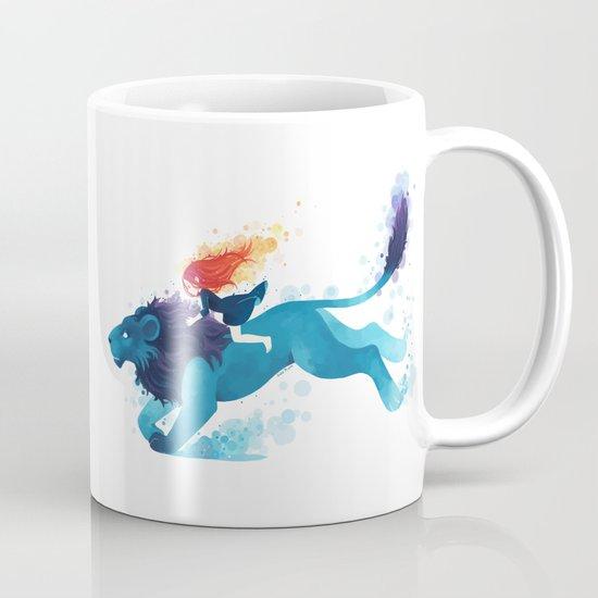 Lion Rider Mug